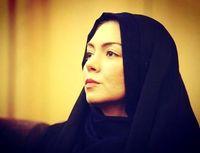 آزاده نامداری در کنار بازیگر خارجی +عکس
