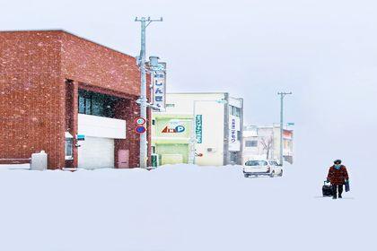 زمستان زیبا در سرزمینهای شمالی ژاپن +تصاویر