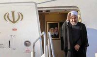 رییس جمهوری از اهواز به تهران بازگشت
