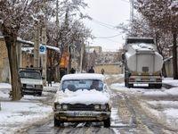سپیدپوش شدن بام ایران +تصاویر
