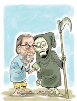 پشتپرده شایعه قتل خاوری! (کاریکاتور)