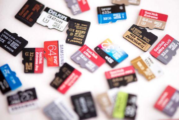 کارتهای حافظهتان را به دیگران ندهید