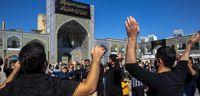 عزاداری در حرم امام رضا(ع) +عکس