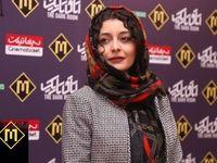 ساره بیات و ساعد سهیلی در اکران فیلم اتاق تاریک +عکس