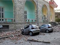 خودروهای له شده در زلزله 5.6 ریشتری +تصاویر