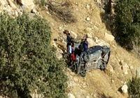 سقوط مرگبار خودرو جان دو جنگلبان را گرفت
