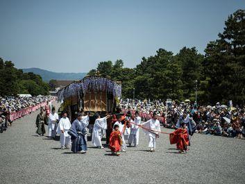 فستیوال آئوئی در کیوتو ژاپن