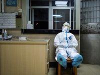 جنگ چین با کرونا +عکس