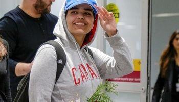 دختر جنجالی عربستان به کانادا رفت +عکس