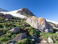صعود تابستانی به قله بوزسینا +عکس