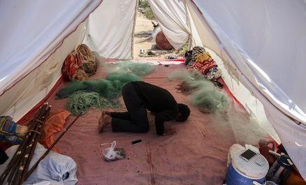خسارات سیل در روستاهای سوسنگرد