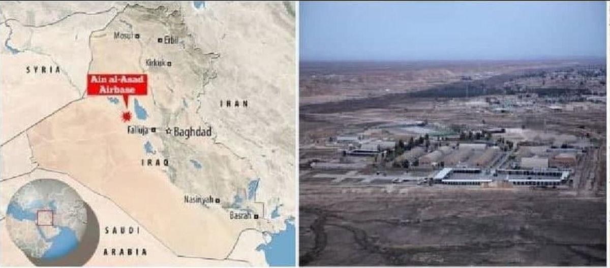 حمله موشکی به پایگاه عین الاسد
