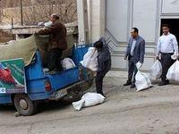 ارسال کمکهای غیرنقدی بانک قرضالحسنه مهر ایران به سیلزدگان شهرستان چگنی