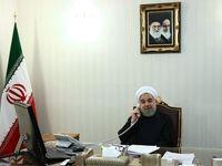 تماس تلفنی روسای جمهور ایران و تونس