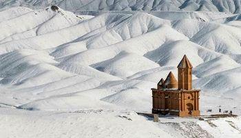 کلیسایی زیبا در آذربایجان شرقی +عکس