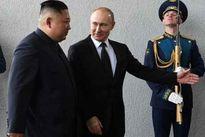 برای اولین بار رهبر کره شمالی با پوتین دیدار کرد