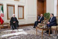 ظریف در نامهای از روحانی تشکر کرد