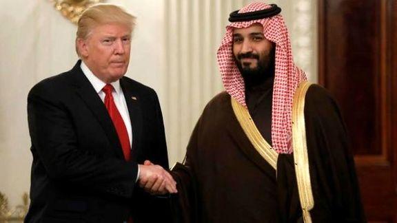 ترامپ انتصاب «محمد بن سلمان» را تبریک گفت