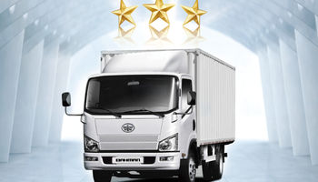 3 ستاره کیفی برای اولین بار به کامیونت