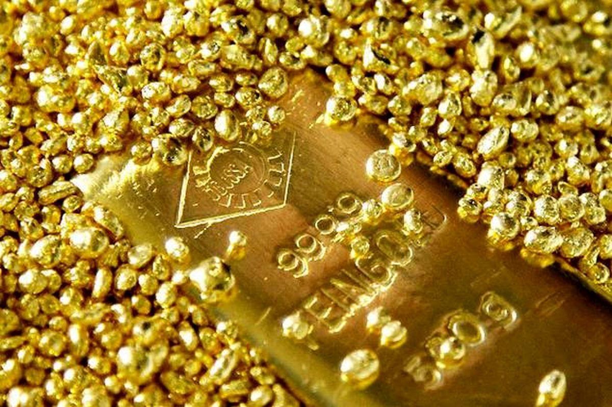 طلای جهانی به پایینترین سطح در یک هفته اخیر رسید