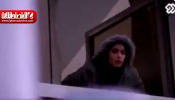 دانشجوی که برای فرار از گناه خودش را از پنجره پرت کرد +فیلم
