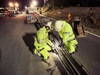 جاده الکتریکی سوئد چگونه کار میکند +عکس