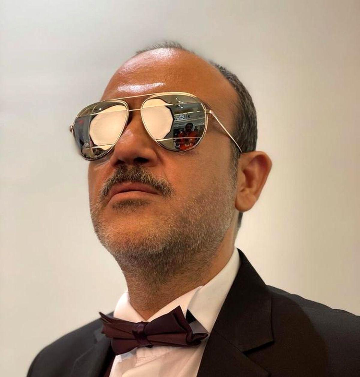 مراسم سالگرد فوت پدر مهران غفوریان + عکس