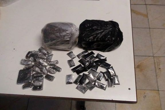 زوج قاچاقچی مواد مخدر دستگیر شدند