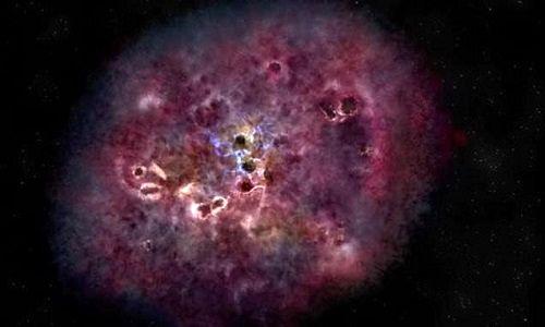 کهکشانی که بدون علت جوانمرگ شد +عکس