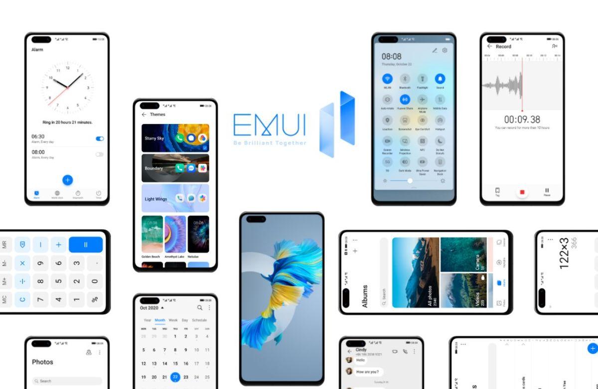 برنامه بهروزرسانی رابط کاربری EMUI 11 هوآوی برای مدلهای بیشتر