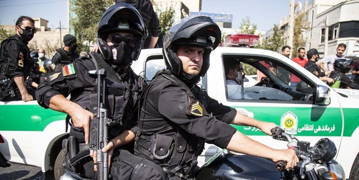 دستگیری شرور مسلح درگیری مسلحانه در نظام آباد