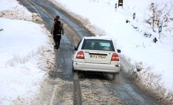 بازگشایی  راه ۴۹۰روستای استان گیلان