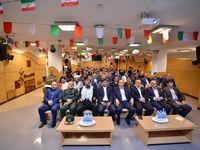 برگزاری مراسم گرامیداشت هفته بسیج در بیمه آسیا