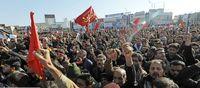 مصدومان مراسم تشییع به بیمارستانها منتقل شدند +فیلم