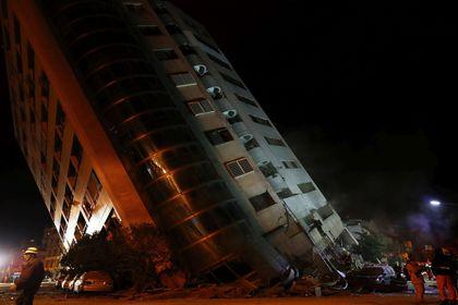 زلزه ۶.۴ ریشتری در تایوان +تصاویر
