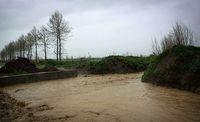 12 روستای آق قلا محصور در آب