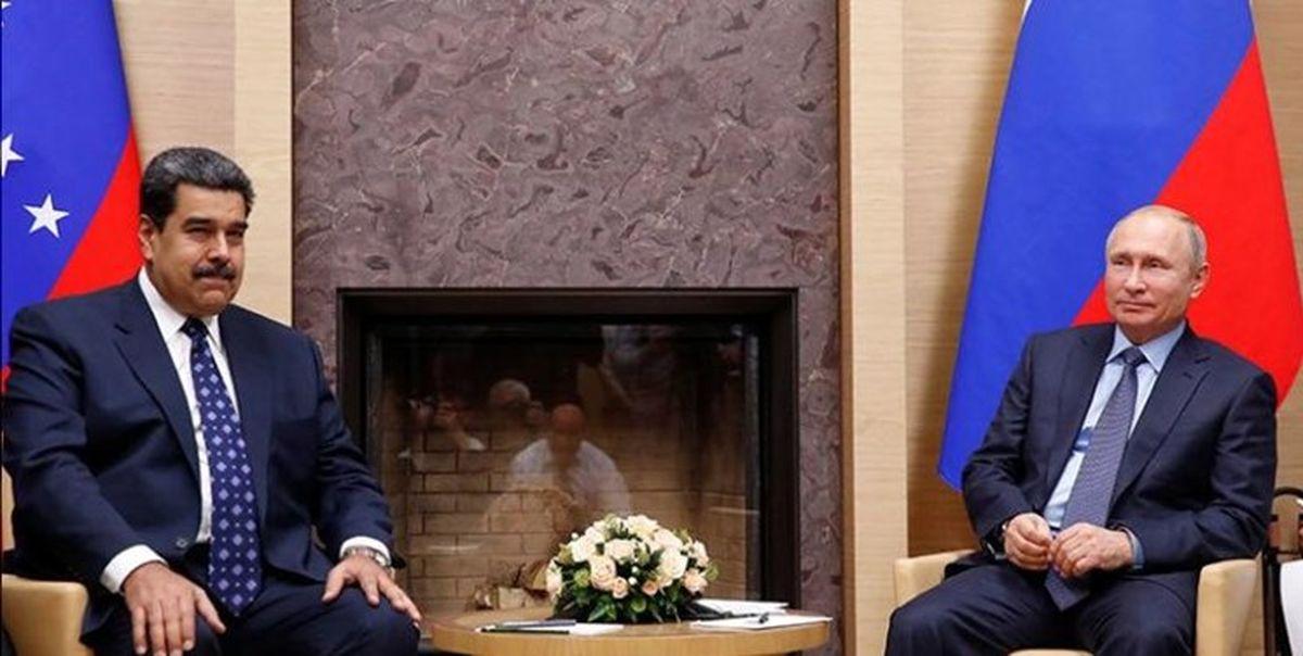 پوتین تلفنی با مادورو گفتوگو کرد