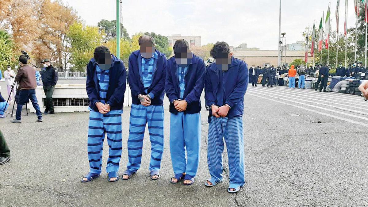 دستگیری 281 زور گیر سارق مسلح و قاتل