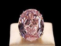 الماس ستاره صورتی رکورد شکست +عکس