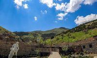 طبیعت بهاری آبیدر، نگین سنندج +عکس