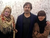 زوج بازیگر و دخترشان +عکس