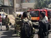 آتشسوزی در برج بهار +تصاویر