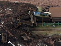 تصاویر وحشتناک از شکستن سد در برزیل