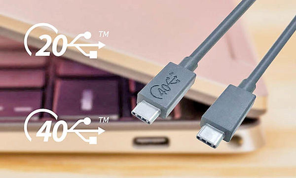 کامپیوترهای جدید، مجهز به USB۴ عرضه میشود