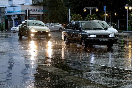 بارش رگباری در تهران و تعدادی از استانها