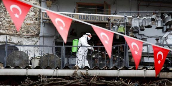 افزایش تقریبا ۵هزار نفری شمار مبتلایان در ترکیه در یک روز