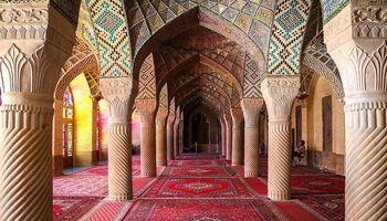 مسجد نصیرالملک در شیراز +عکس