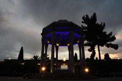 آرامگاه حافظ در آستانه سال نو +تصاویر