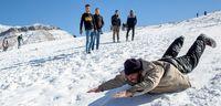 تفریحات زمستانی در شهرهای کشور +تصاویر