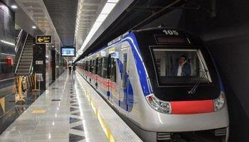 افزایش فاصله حرکت قطارهای خط۵ مترو در روز جمعه